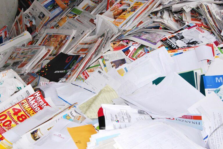Riciclo della carta e limiti: fino a quando è riciclabile?